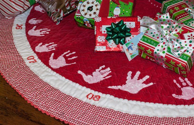 17 Best Ideas About Handprint Christmas Tree On Pinterest