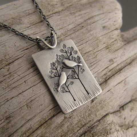 Nurturing Mother and Child Sterling Silver Pendant