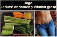 Jugo / Zumo para reducir abdomen y eliminar grasa