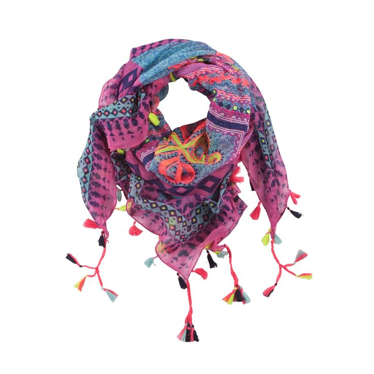 Santorini scarf - Christmas in #HTFSTYLE