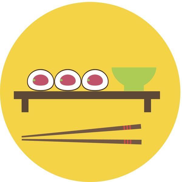 Sushi by Elena Borisova