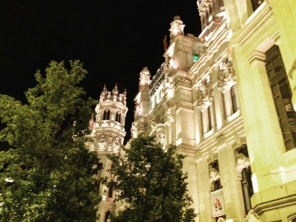 Hall of town, Madrid #Spain #Madrid #architecture #travel