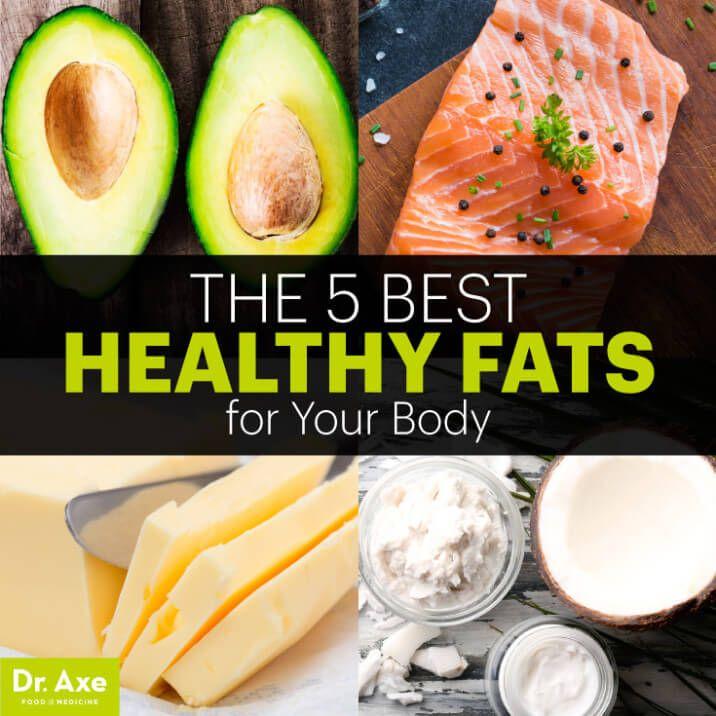 Best healthy fats - Dr. Axe