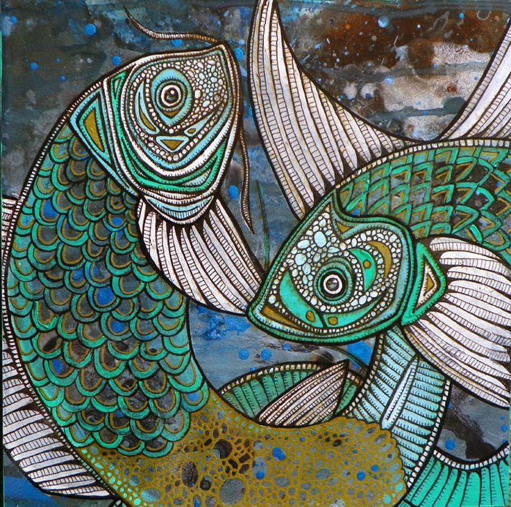 1000 images about poissons on pinterest fish paintings for Coy poisson