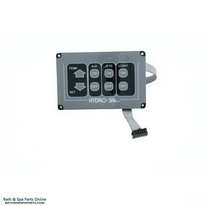 Hydro Spa 3-Function Topside Control Panel (351032)