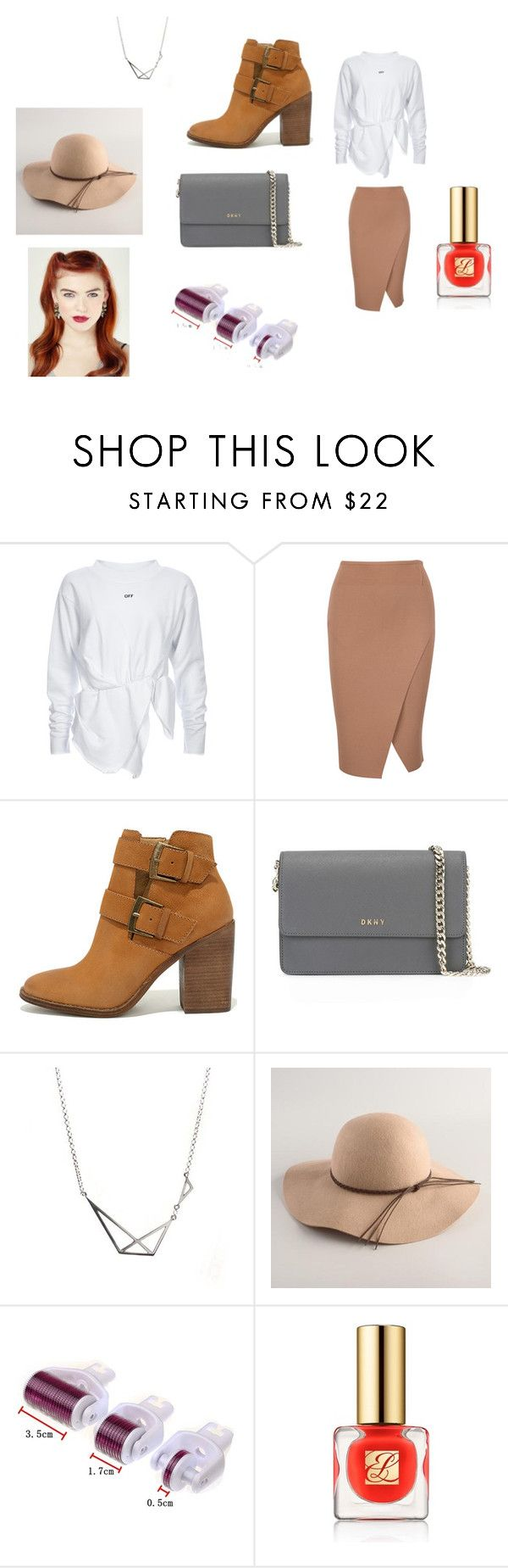 """""""Valuable lesson"""" by nadaanja ❤ liked on Polyvore featuring Steve Madden, DKNY, Cost Plus World Market and Estée Lauder"""