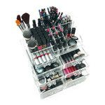 <strong>OnDisplay Sarah Deluxe Tiered Acrylic Cosmetic/Jewelry Organizer</strong> by Vandue Corporation