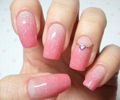 My sweet nail art, click through for tutorial (in my korean blog) ...