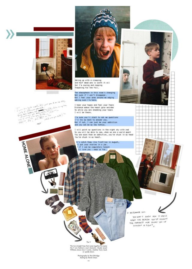 """""""17. Home Alone"""" by chomiczynka ❤ liked on Polyvore featuring UNIF, Michael Kors, Solmate Socks, Aesop, Mason Pearson and film"""