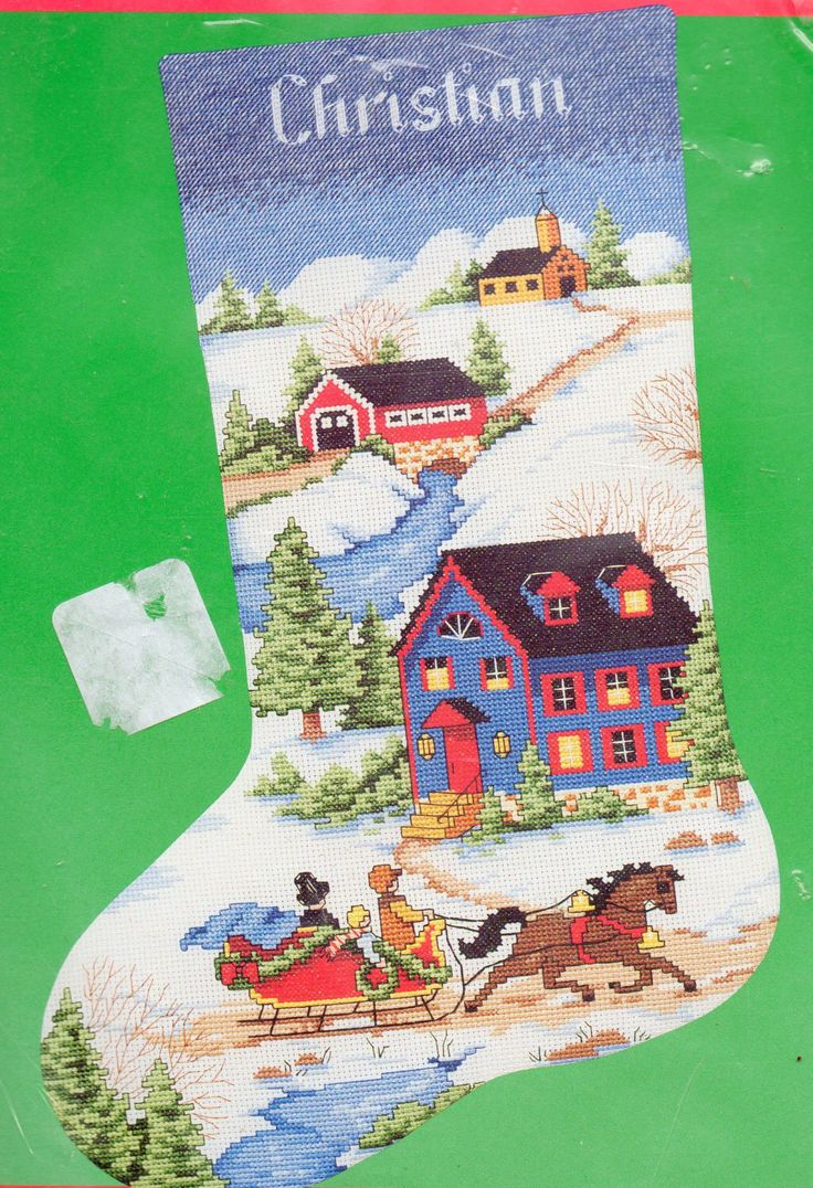 17 best images about christmas stockings on pinterest for Charles craft christmas stockings