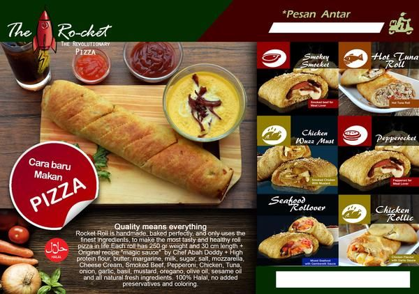 Now Available at bukalapak.com: Rocket Pizza 5 Roll All Variant Package. Disc 10%