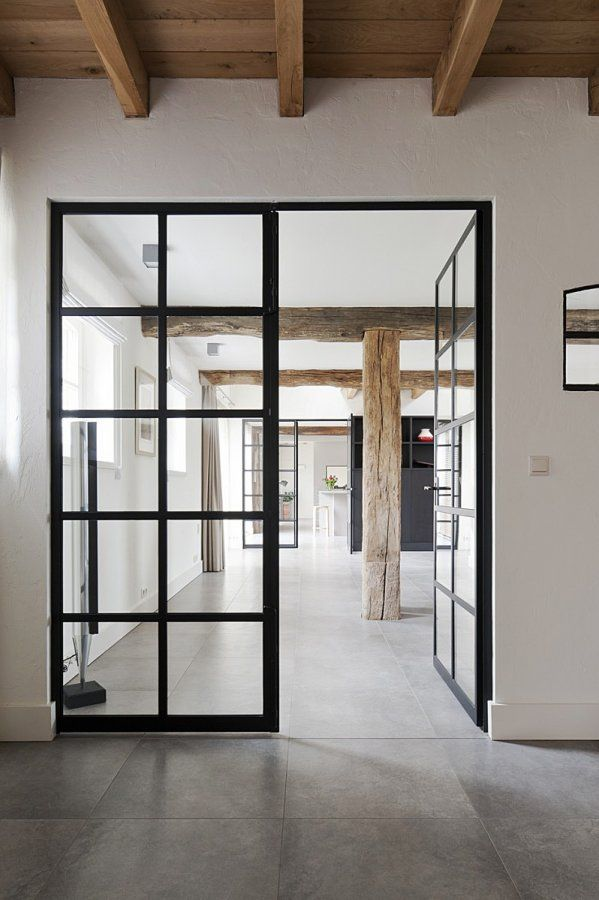 25 beste idee n over boerderij interieur op pinterest boerderijkeukens moderne boerderijen. Black Bedroom Furniture Sets. Home Design Ideas