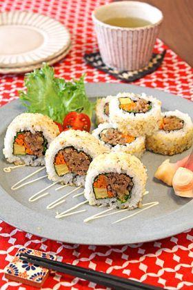 「【クルミ】コリコリくるみきのこ寿司」ぱお   お菓子・パンのレシピや作り方【corecle*コレクル】
