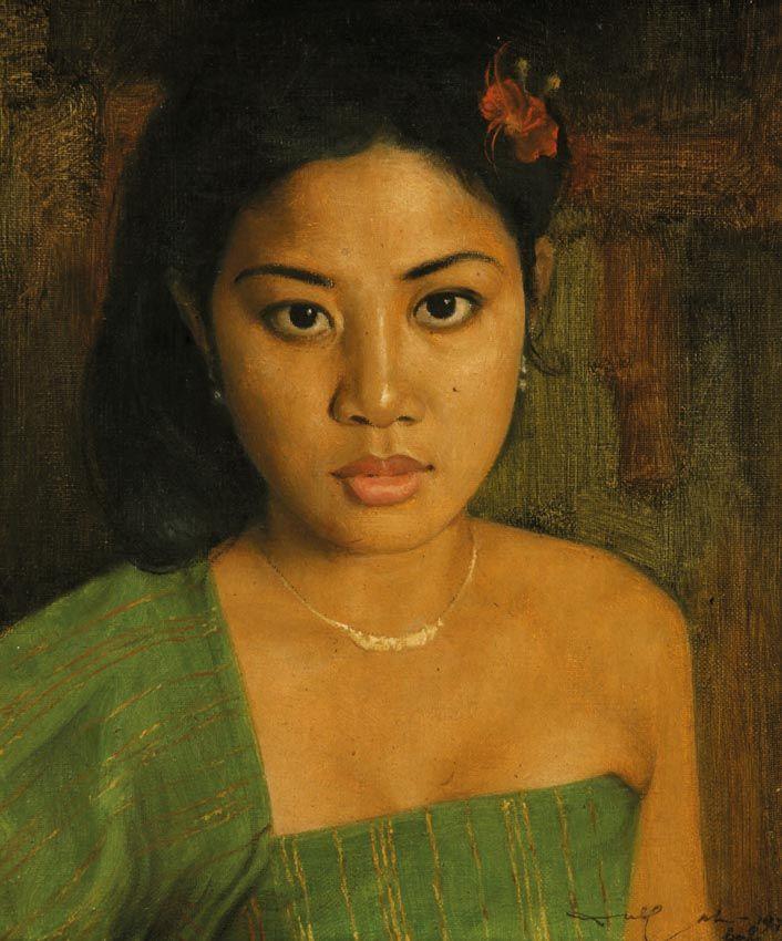 Dullah (Solo, 1919 – 1996) - Balinese Beauty, 1978