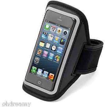 Aduro U-Band Reflective Armband For Apple Iphone 5 (Black) Damaged Package