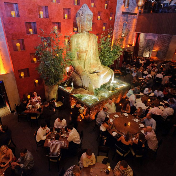 Las Vegas' 13 best places to party... while having dinner  -TAO The Venetian This multi-level party destination is big, loud, and always busy. The nightclub upstairs features a number of different rooms playing everything from old-school R&B to EDM. Plus, you've got Buddha statues alongside girls swimming in bathtubs -- barely covered by flower petals -- that're sure to work up your appetite for... the Asian cuisine served in the downstairs dining room. Why... what'd you think we were gonna…