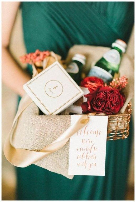 Несколько идей для оформления welcome bag на свадьбе