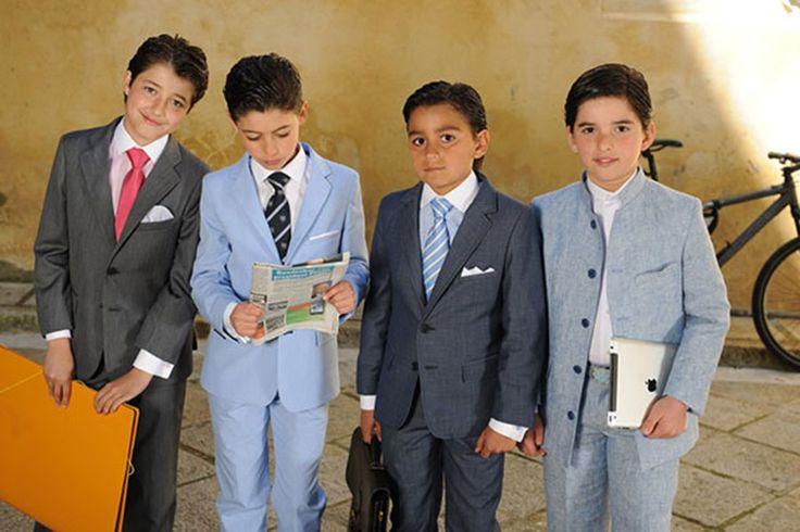 Trajes formales para chicos 10 años