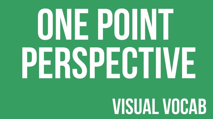 One Point Perspective defined - From Goodbye-Art Academy