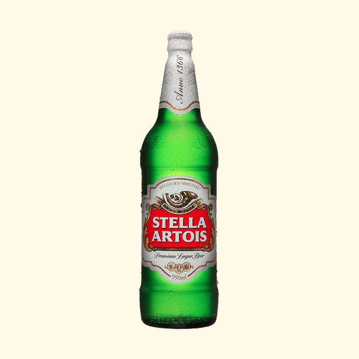 Cerveja Stella Artois  990 Ml  Caixa com 12 unidades