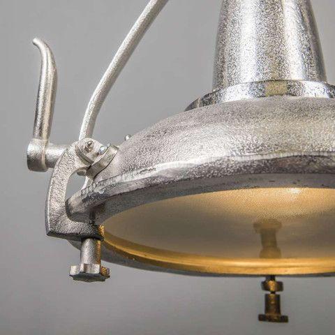 Hanglamp Raw II nikkel #qazqa #industrieel #industrialdesign