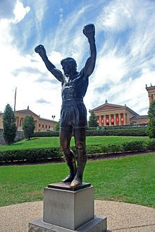 Rocky Balboa, one of two boxing characters Sylvester Stallone played in 7 total movies.