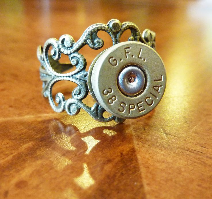 Bullet ring $14.50: Rings 1450, Fashion, Style, Bullets Accessories, Country Girls, 9Mm Rings, Rings 14 50, Love It, Bullets Rings