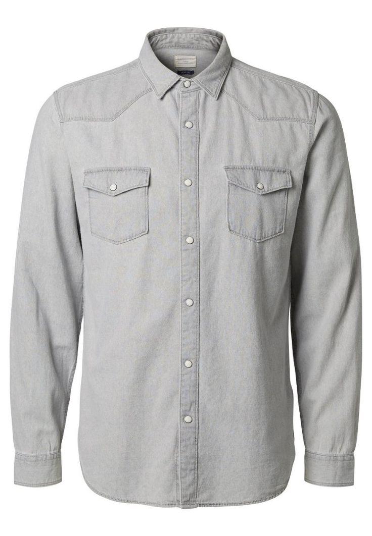 Casual Selected Homme Casual overhemd - light grey melange Lichtgrijs: € 49,95 Bij Zalando (op 25-3-16). Gratis bezorging & retournering, snelle levering en veilig betalen!