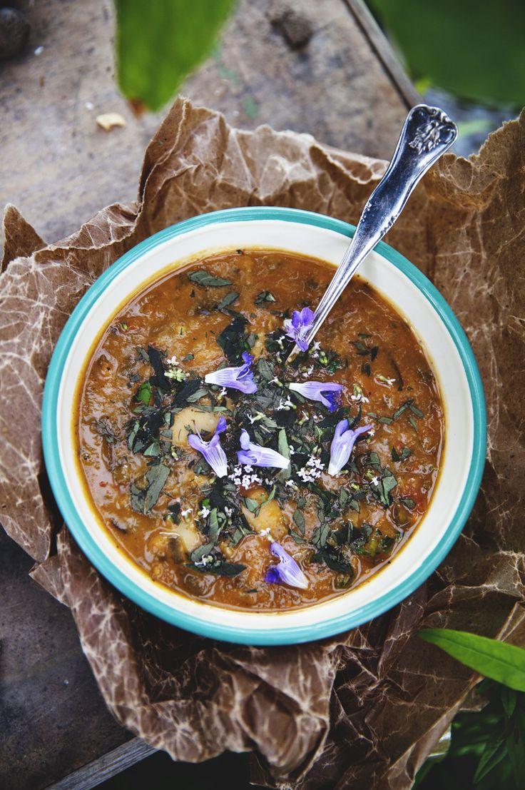 Ribollita – toscansk bön- & grönkålssoppa