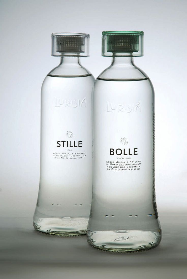 stille/bolle #water #bottle #packaging