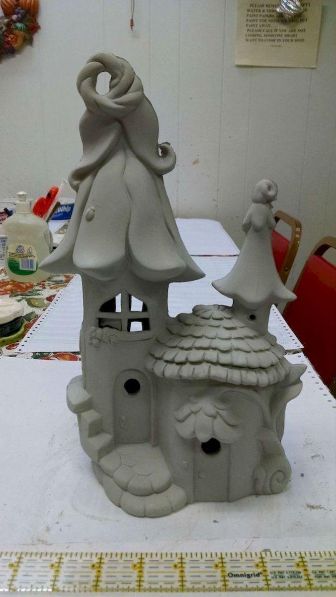 120 Einfach Zu Versuchen Diy Fimo Garten Ideen Aus Fimo 73 Polymer Clay Fairy Fairy House Diy Clay Fairy House