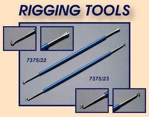 #PopularKidsToys Just Added In New Toys In Store!Read The Full Description & Reviews Here - Rigging Tools x 2 for Wooden Model Ship Building Stick & String models - This is a pair of double ended rigging tools for wooden model ship building. If you are making a model boat or ship, you will find a set of these rigging tools really useful. Rigging 'stick and string' models can have problems. However, Amati has produced items to help the modeller. One problem tha