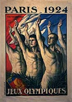 Paris 1924 - Jeux en France - Franceolympique.com