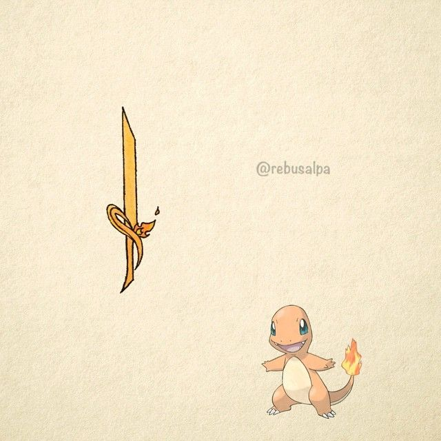 004. Charmander weapon