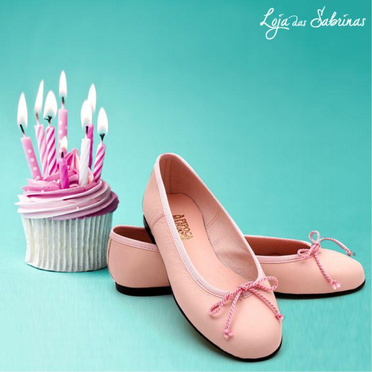 Entre com o pé direito no novo mês e na companhia das nossas sabrinas Lolita by A Pipoca Mais Doce.