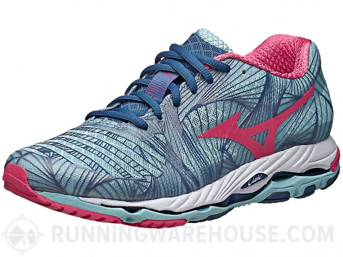 Mizuno Wave Paradox Women's Shoes Blue/Red/Blue