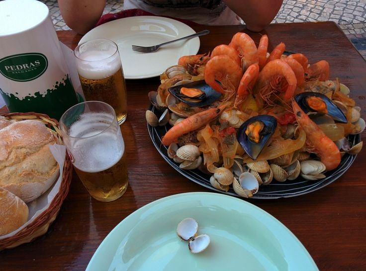 Eating out in Nazarè