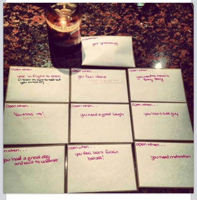 Open When Envelopes For Your Best Friend: 46 Best Images About BFF Gifts On Pinterest