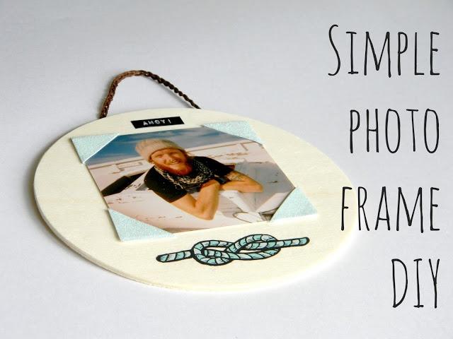 Simple Photo Frame DIY