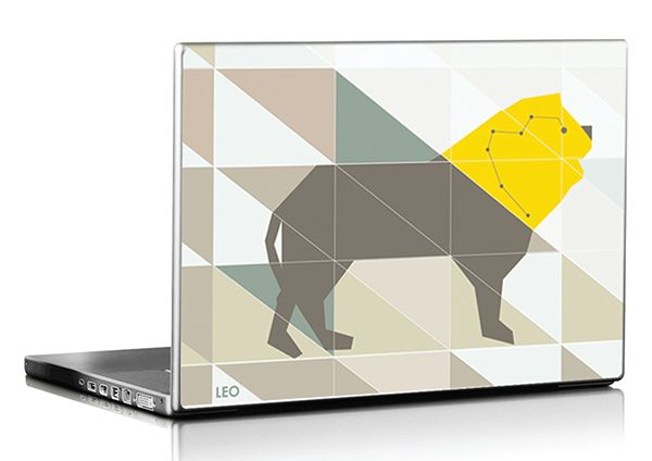 Laptop's Cover by Nancy Skerletidou, via Behance