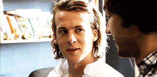 Everytime Bård Ylvisåker smiles, an angel gets its wings