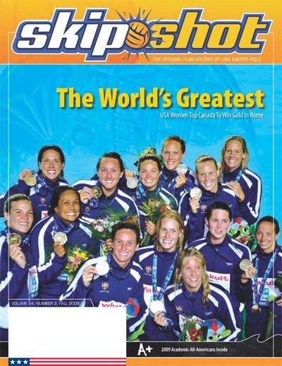 Skip Shot Magazine Water Polo 36