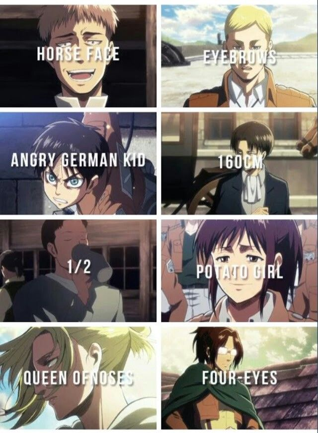 Yerp that's them but Levi is 163cm