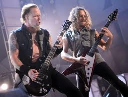 James Hetfield & Kirk Hammet...METALLICA!