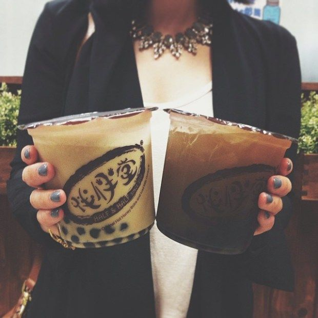 bubble tea :: Half & Half, Los Angeles