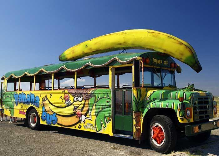 Banana Bus Places To Visit School Bus Conversion