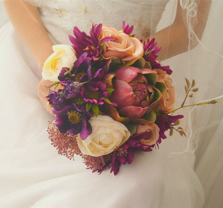 Cheap wedding bouquet, Buy Quality bride bouquet directly from China hand bouquet Suppliers:                   Welcome to My Store&nb