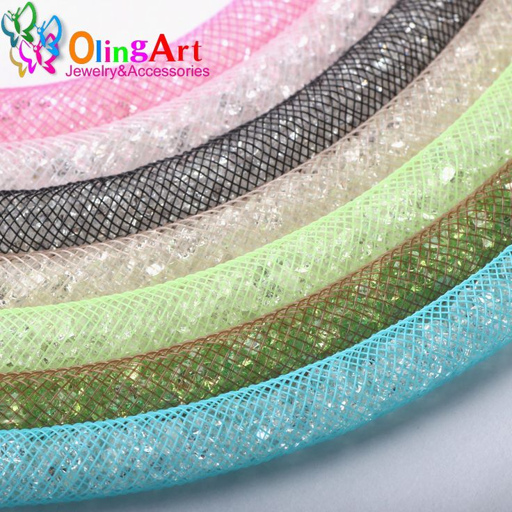 OlingArt  8mm 5M/lot wholesale Colorful Mesh Bracelet jewelry DIY fitting With Crystal stones Filled necklace choker 2017 New -  http://mixre.com/olingart-8mm-5mlot-wholesale-colorful-mesh-bracelet-jewelry-diy-fitting-with-crystal-stones-filled-necklace-choker-2017-new/  #JewelryFindingsComponents