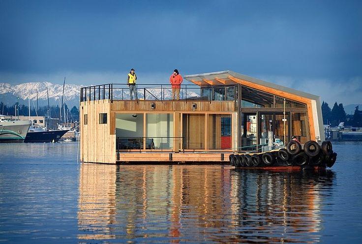 Casă plutitoare în Seattle