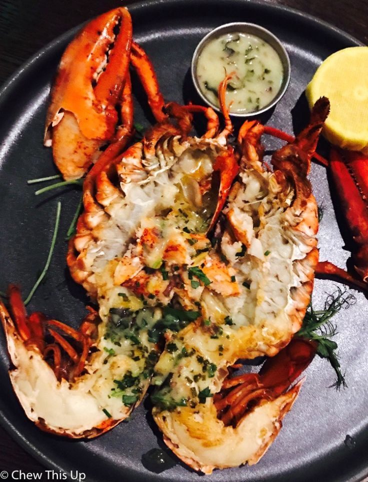 7 Lucky Gluten Free Date Night Finds On Las Vegas Blvd. Lobster @ Harvest Restaurant @ Bellagio Las Vegas. Fresh Herbs and SO Good. Read More Gluten-Free Travel Finds Here @ | https://www.chewthisup.com/